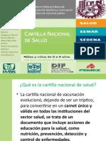 Cartilla nacional de salud niñas y niños de 0-9 años [3HM3]
