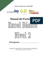 Manual de Excel 2016 Básico II PNFC 2019 1
