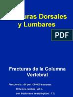 Fracturas lumbares