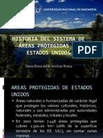 Historia Del Sistema de Áreas Protegidas en Estados