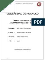 Universidad de Huanuco Trabajo