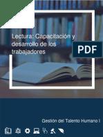 Lectura 7.1 (1) Capacitación y Desarrollo de Trabajadores