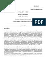 Economie-Prop Relance Post BRH Vers 4-10 Fev10[1]