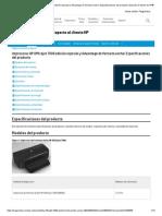 Impresoras HP Officejet 7000 edición especial y Advantage de formato ancho_ Especificaciones del producto _ Soporte al cliente de HP®