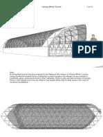 Dome Geodésico tipo tunel