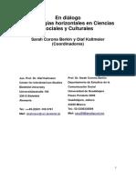 Sarah Corona y Olaf Kaltmeier - En Diálogo Metodologias Horizontales en Ciencias Sociales y Culturales