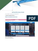 301304 Instalación IDE Visual Studio
