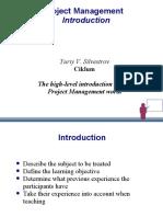 Project Management Introduction