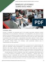 ¿Seguro de Desempleo_ ¿Es Posible Alcanzar Este Sueño en El Perú_ _ Comunicambio