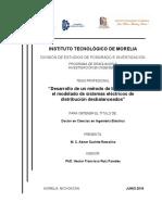Tesis - Desarrollo de Un Metodo de Barrido Para El Modelado de Sistemas Electricos de Distribucion Desbalanceados - Abner Suchite Remolino
