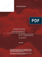 DRRM in Climate Change Adaptation
