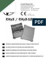 manual controlador de portón eléctrico abatible