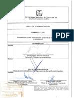 Procedimiento Para La Administración General de Capacitación.