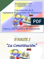 La Constitución y la LOE 2009