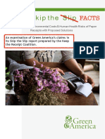 Don't Skip the Facts - Green America