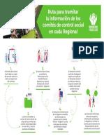 Ruta Para Tramitar La Información de Los Comités de Control Social en Cada Regional