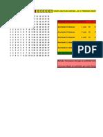 LOTOFACIL -17-15-15-15 = 15 - 11 FIXAS