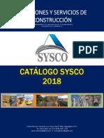 Catalogo Sysco 2018.1