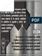 Vision - Misión