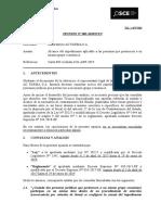 OPINIÓN OSCE - CONDICIONES PARA SER CONTRATISTA