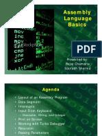 Assembly Language Basics presentation