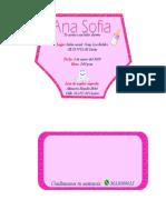 Tarjeta Invitacion
