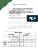 Identificación de Impactos Ambientales1