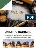 Basic Baking Application