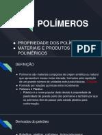 polimeros na construção civil