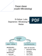Bbc313 Slide Dasar - Dasar Diagnostik Mikrobiologi