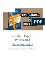 Lotofácil Expert Profissional Onde Comprar ?【ATENÇÃO!】