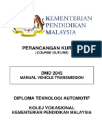 4) Dmd 2043 - Manual Vehicle Transmission
