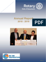 Beaumaris Rotary Annual Report 2019 Final Sq