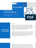 Topología de una red - Tipos - Características