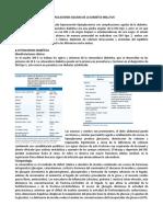 Tema 11- Complicaciones Agudas de La Diabetes Mellitus