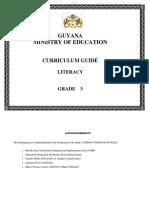 Grade 3 Curriculum Guide - Literacy