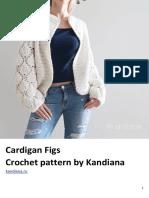 Cardigan Figs Crochet Pattern by Kandiana