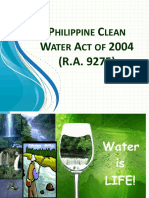 Module 3 - RA 9275 Phil. Clean Water Act