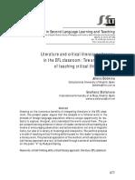 Literature and critical  literacy pedagogy.pdf