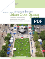 Amanda Burden Urban Open Space Award Brochure