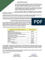 Minuta Sobre Rendición de Cuenta (1)