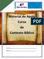 Apostila de Contexto Bíblico 2018 Modulo 1
