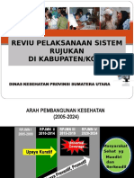 Reviu Pelaksanaan Sistem Rujukan Di Kab Kota
