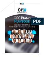 2019 OPC Piano Playbook