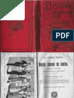 El Cocinero Practico, Anonimo Edt. Saturnino Calleja 1892