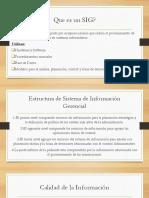 Sistemas de Informacion Gerencial - SIG