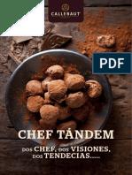 Recetario Chef Tándem Chocolate
