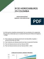 Presentacion Sector Hidrocrburos en Colombia