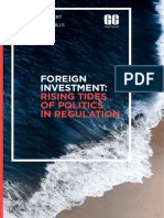 Foreign Investment Rising Tides of Politics in Regulation (2)