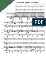 Salmo 19 - Score